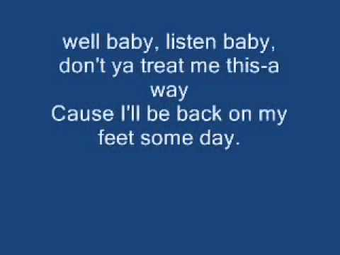 Hit The Road Jack  Lyrics  Ray Charles