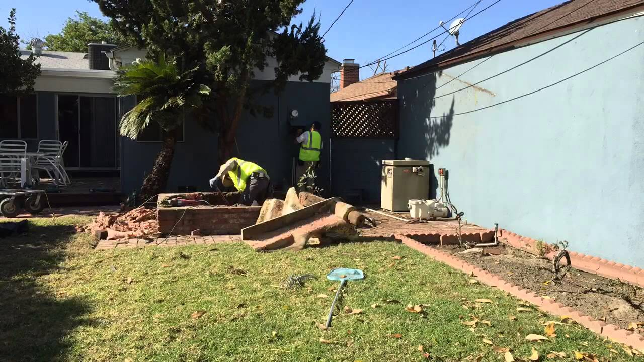 In ground Spa and Patio Removal Burbank Los Angeles County YouTube