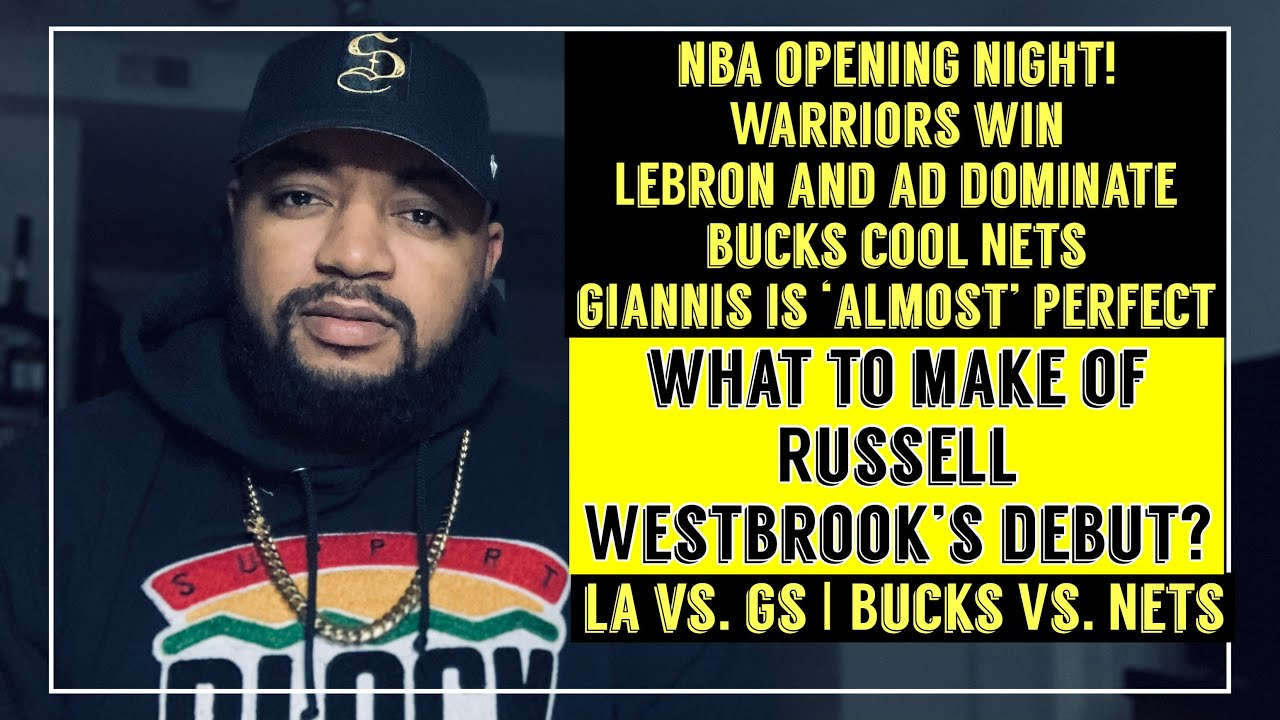 Download NBA Opening Night! Warriors and Bucks Win! LeBron, Giannis and AD Dominate!