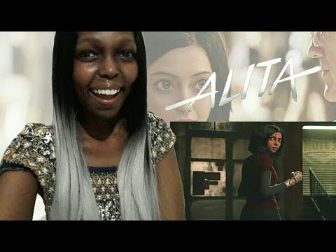 Alita: Battle Angel Official Trailer Reaction Video!