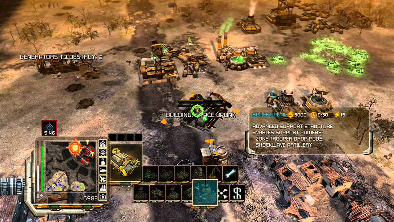 Command and Conquer 3: Tiberium Wars Gameplay