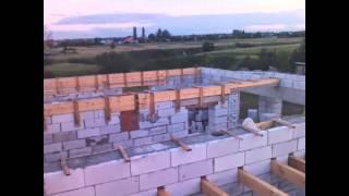 Этапы строительства дома из газосиликата(Это видео создано в редакторе слайд-шоу YouTube: http://www.youtube.com/upload., 2015-11-09T09:35:33.000Z)