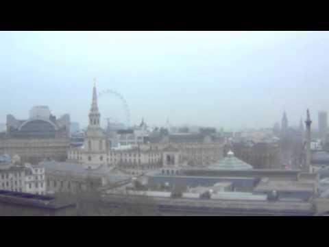 The Solar Eclipse Live Over London's Skyline