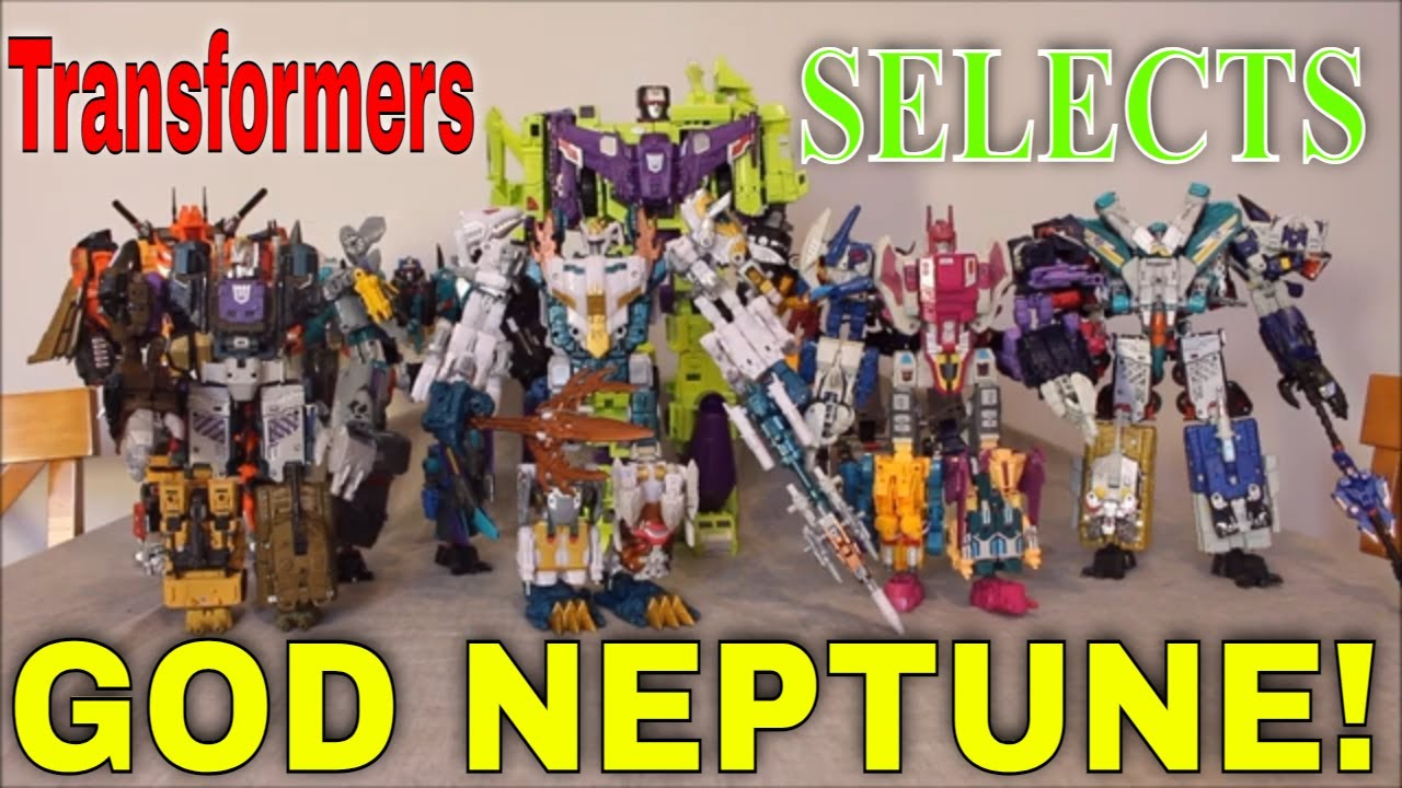 A Combining God: Transformers Selects God Neptune by GotBot