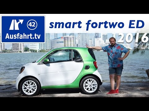 2016 smart fortwo electric drive  (453) - Probefahrt, Fahreindruck
