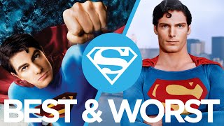 The Best & Worst Superman Movies Ranked : Movie Feuds ep156