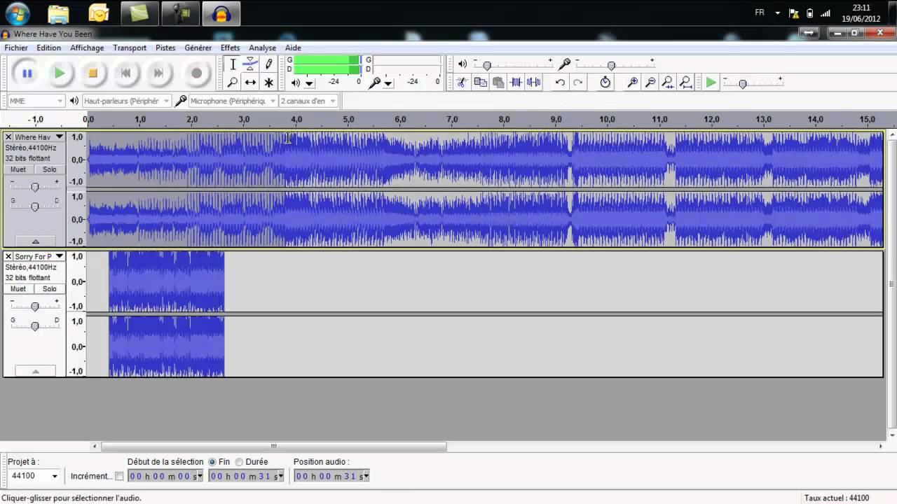 Montage audio avec audacity youtube - Logiciel pour couper musique mp3 gratuit ...