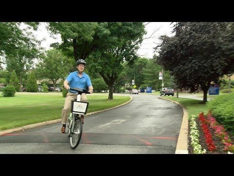 Howard County General Hospital Partners with Howard County Bikeshare