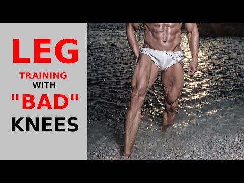 Leg training with