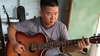 Mặt trời bé con - guitar solo