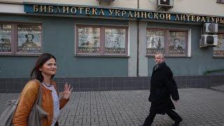 Ukrainian Library Raid: Director arrested, dozens of 'extremist' books seized