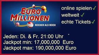 Euromillions in Deutschland spielen! (Ganz Einfach!)