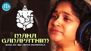 Maha Ganapathim Song By Sri Vidya Muthyala    Govind Srinivas    Govind Srinivas