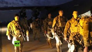 EE.UU. envía tropas adicionales de paracaidistas a Kuwait