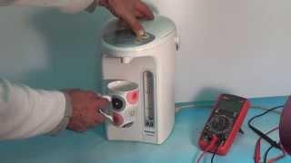 Ремонт термопота Panasonic не качает воду