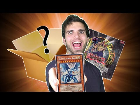 YuGiOh Invasion of Chaos Mystery Box Opening | The Search for Blue Eyes Shining Dragon is OVER!??