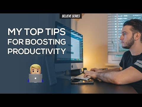 IMMEDIATELY DOUBLE YOUR WORK/STUDY PRODUCTIVITY WITH THESE TIPS