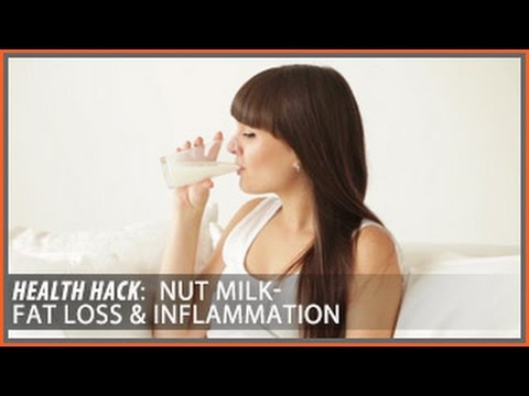 Nut Milk: Top Picks for Fat Loss & Inflammation | Health HacksThomas DeLauer