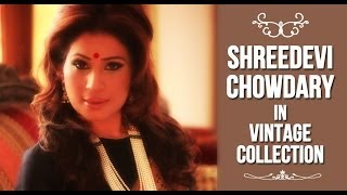 Shreedevi Chowdary in Vintage Collection - By Shree & Deepthi