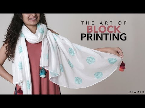DIY: Block Printing At Home | Fabric Printing Technique