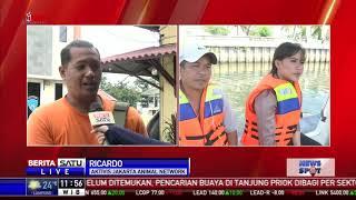Polairud Sisir Perairan Tanjung Priok untuk Mencari Buaya