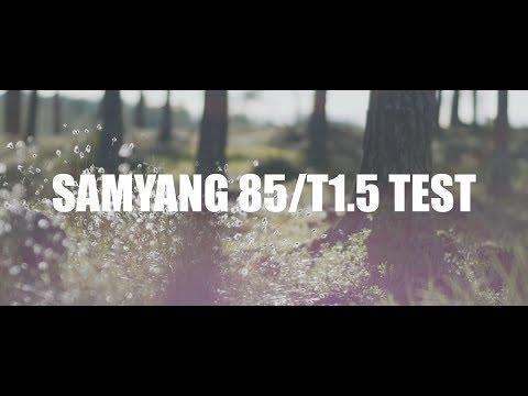 ROKINON 85MM T1.5 CINE TEST