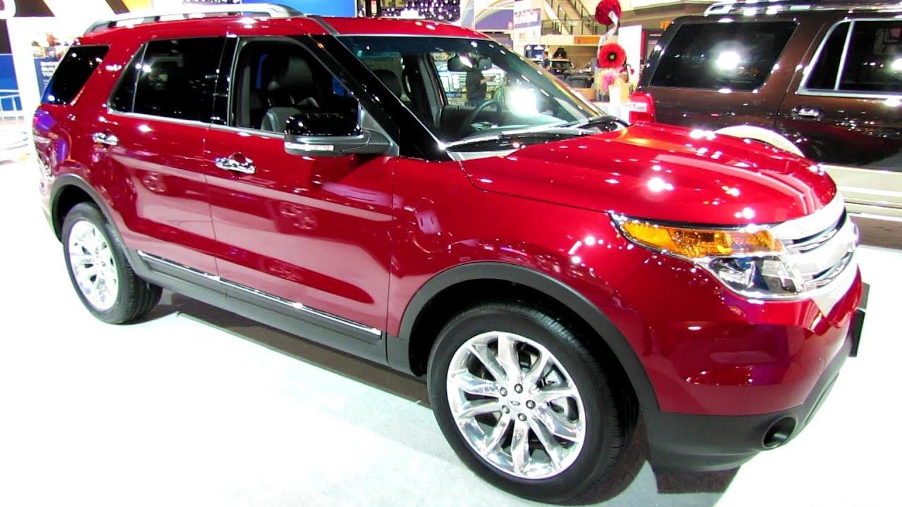 2014 Ford Explorer XLT   Exterior And Interior Walkaround   2014 Chicago  Auto Show