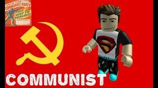 Ser comunista em Roblox