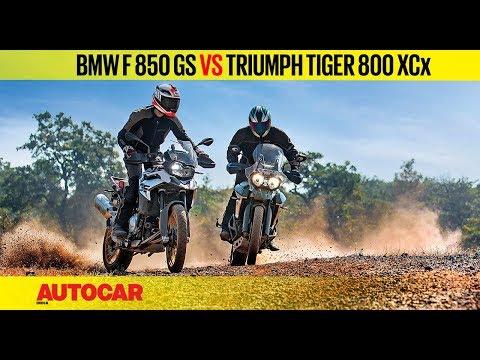 BMW F 850 GS vs Triumph Tiger 800 XCx | Comparison Review | Autocar India