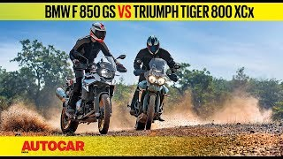 BMW F 850 GS vs Triumph Tiger 800 XCx | Comparison Review | Autocar India