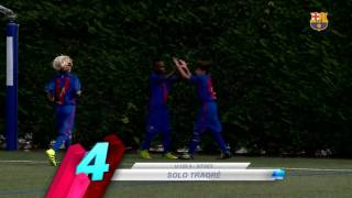 FCB Masia-Academy: Top goals 1-2 october