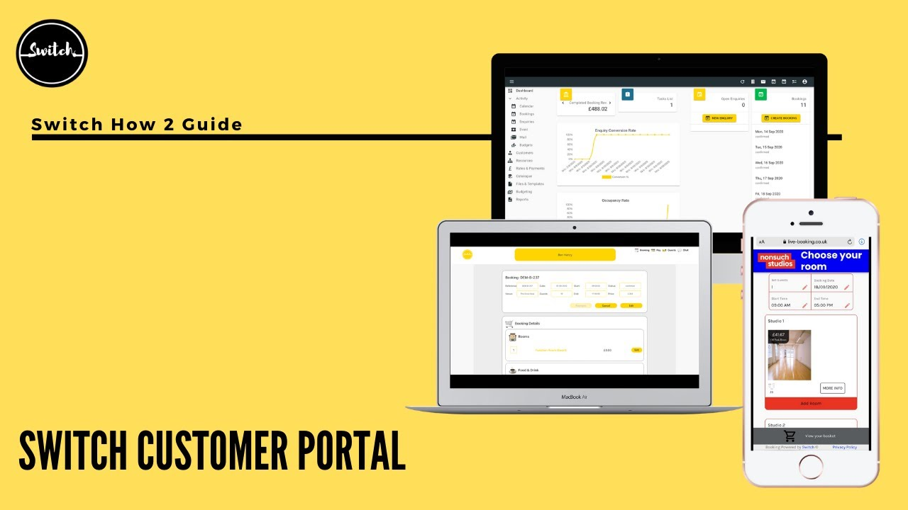 Getting more from less - introducing Switch Customer Portal