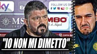 """L'allenatore del napoli commenta le voci circa un possibile avvicendamento sulla panchina degli azzurri: """"È la quarta semifinale in quattro anni che alleno i..."""