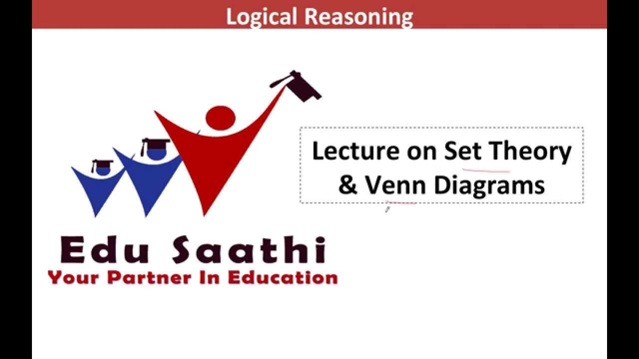 Logical Reasoning Set Theory Using Venn Diagrams Www Edusaathi Com