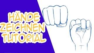 Hände Zeichnen Tutorial: Fäuste