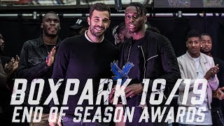 Boxpark 18/19 End of Season Awards | Highlights