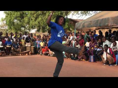 쿨레칸 | Burkina Faso Travel | African Dance BOBO by MAMA Ouattara in Bolomakote Festival (2016 Dec)