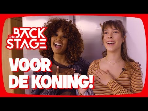 F1rstman - Koningslied 2018 met Linde en Shary-An! – Backstage #8
