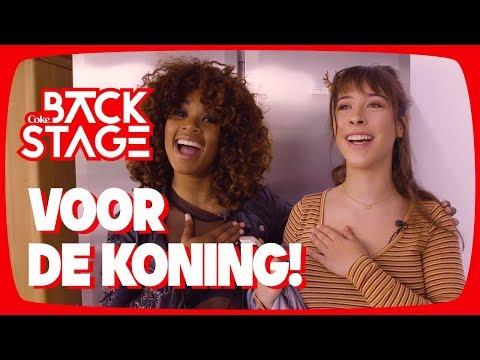 F1rstman - Koningslied 2018 met Linde en Shary-An! – Backstage #8