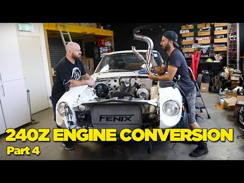 240Z - RB26 Engine Conversion [PART 4]