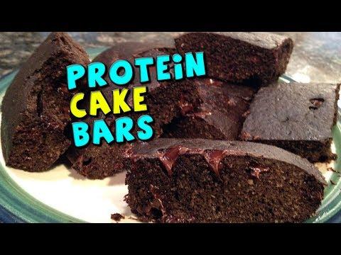 Protein Cake Bars Recipe (120 Calories)!