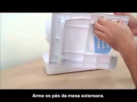 8f33f1777 Aprenda a instalar a mesa extensora! - Máquina de costura Fadimex ...