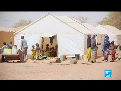 Burkina Faso's humanitarian crisis: FRANCE 24 visits camps for people displaced by fighting