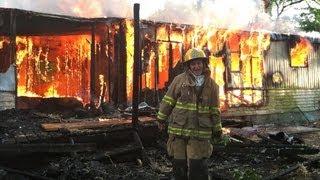 LIGHTING A HOUSE ON FIRE!