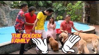 The Golden Family Main ke Rumah Denny Cagur | KELUARGA RECEH (27/10/19) Part 1