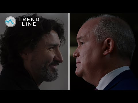 Trudeau vs. O'Toole: Nanos explains how the Tory leader is closing the popularity gap | TREND LINE