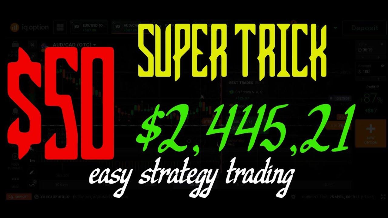 trik trading di iq galimybė
