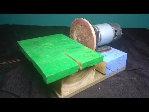 How to make Disc Sander || Diy Sanding Machine ||