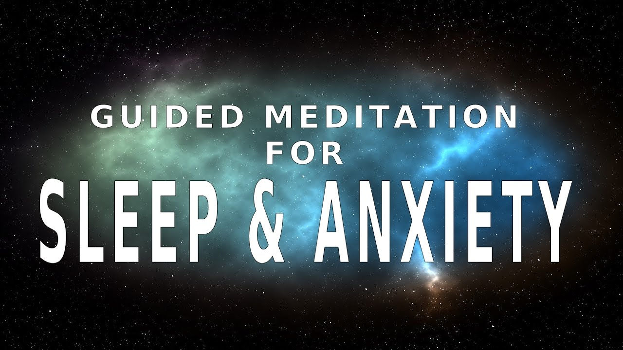 guided meditation for stress and anxiety