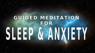 Guided meditation for sleep and anxiety | Relief from stress and insomnia